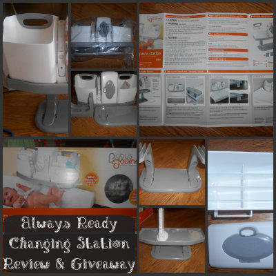 baby's journey always ready changing station
