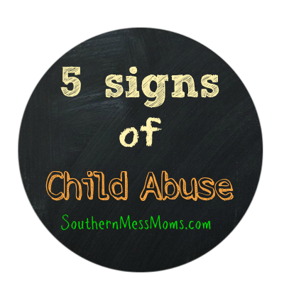 5 Signs Of Child Abuse