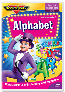 Rock 'N Learn Alphabet DVD Review and Giveaway