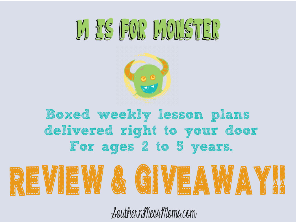 M Is For Monster Review & Giveaway