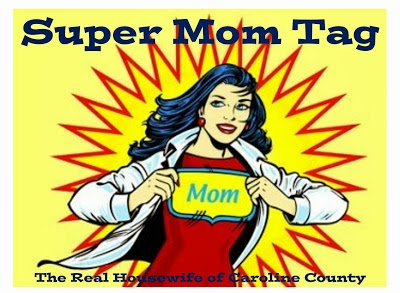 Super Mom Tag