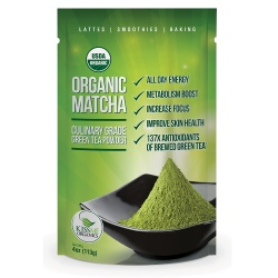 KissMe Organics Matcha Green-Tea Powder